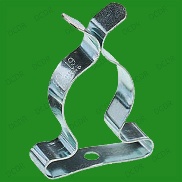 QTY 25 SPRING CLIPS TOOL STORAGE TERRY ALL SIZES 9MM 38MM