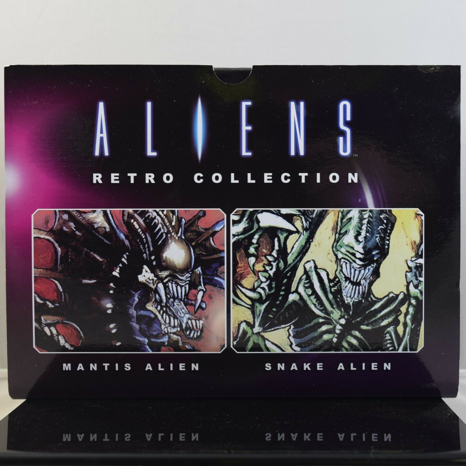 Aliens Retro Collection  1 Mantis and Snake Set
