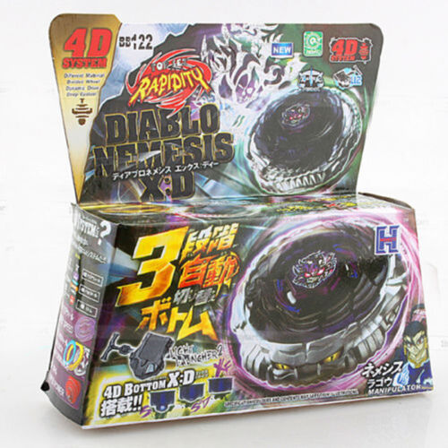 4D Beyblade Top Fusion Metal Fusion Master Fight Rapidity Rare Launcher Set Lot