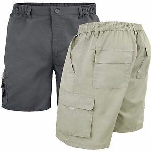 Bermuda-Uomo-Cotone-Con-Tasconi-Laterali-Shorts-Basic-Casual-GIROGAMA-3460B
