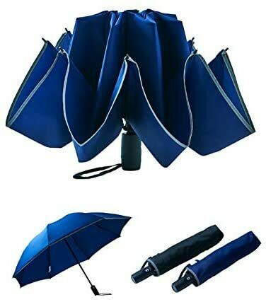 [Moonbat] EXCEL GENT'S Folding umbrella with safety function to prevent ...
