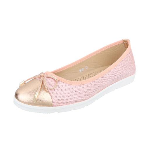 Moderne Halbschuhe Slipper Klassische Ballerinas Damenschuhe 6306 Ital-design