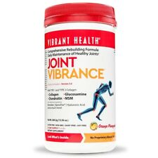 Vibrant Health JOINT VIBRANCE Powder MSM Collagen Turmeric Hyaluronic Acid 13 oz