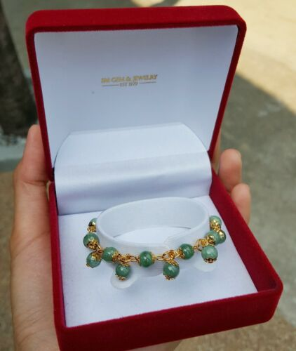 Charming Lucky Jade Bracelet for Women Attracts Wealthy Healthy Love and Power