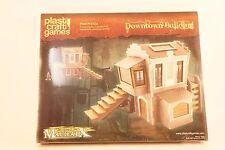Terrain  DOWNTOWN BUILDING Plast Craft Games Designed for MALIFAUX - Necromunda