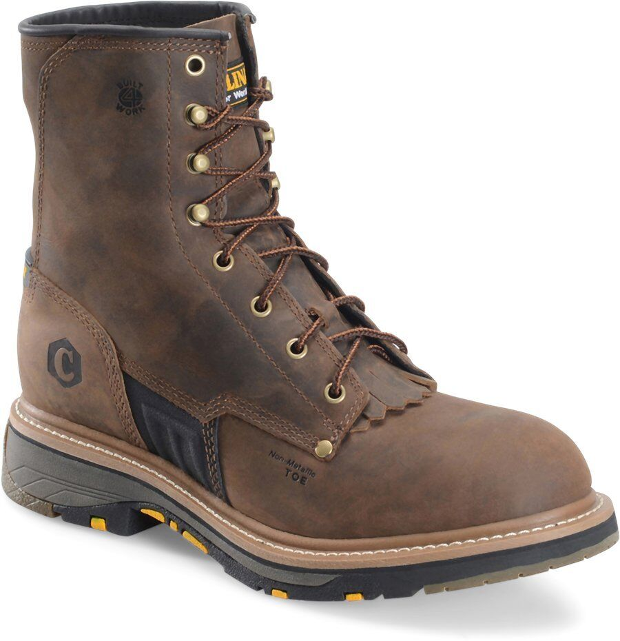 Mens Carolina Un-Lined 8  NON-Safety Toe Work Boot CA3059  FREE SHIPPING