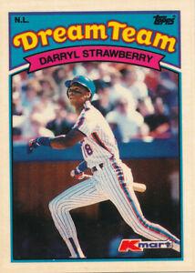 Darryl-Strawberry-1989-Topps-Kmart-Dream-Team-28-Mets-Baseball-Card
