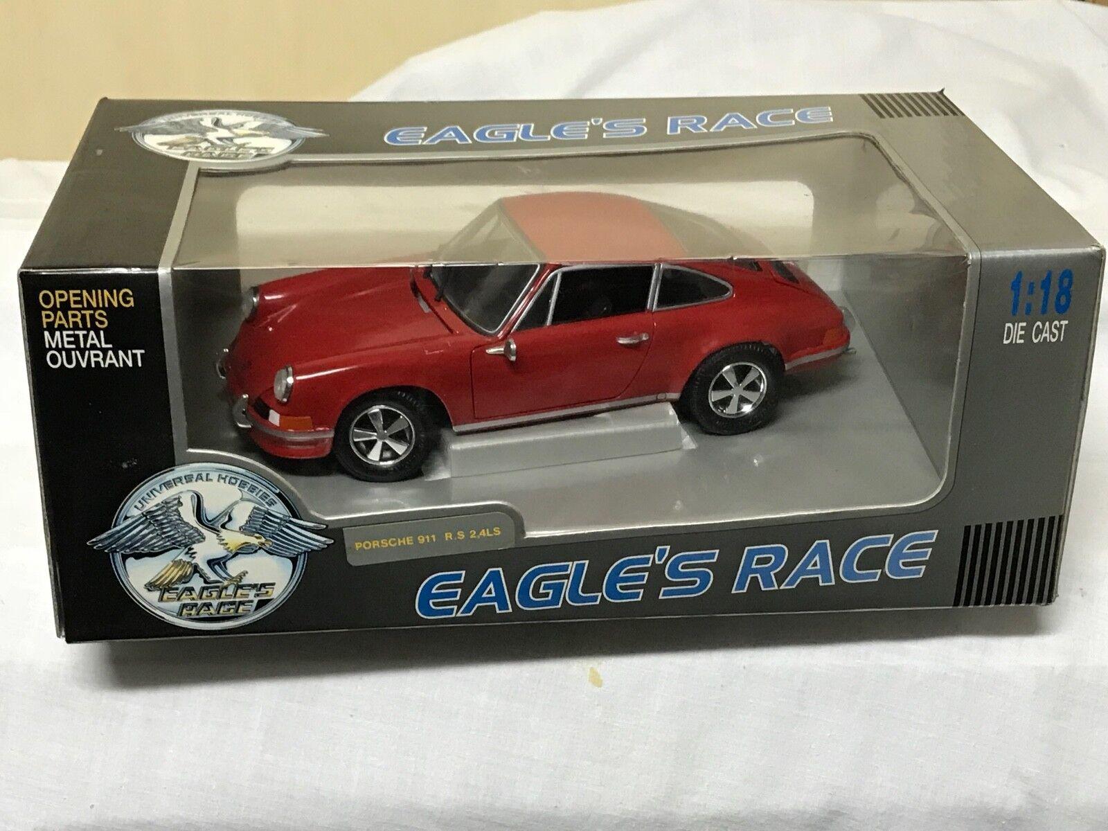 1 18 EAGLE'S RACE - PORSCHE 911 RS 2,4 LS -    OVP   RARE