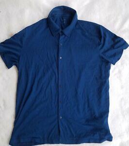 Icebreaker-XL-Knit-Merino-Wool-Short-sleeve-Button-down-shirt
