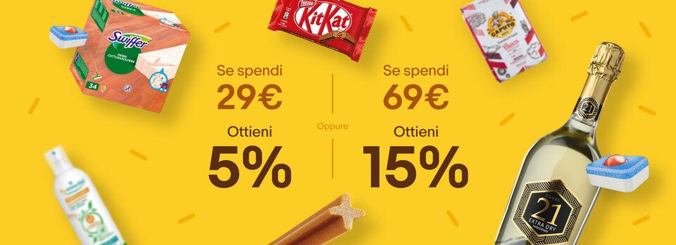 Inizia lo shopping - Comprare di più e spendere meno? eBay!