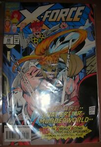 X-FORCE-29-Marvel-comic-VF-DEC-1993-modern-age-MORE-LISTED-COMBINE-SAVE-P-amp-P