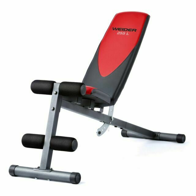 Weider Webe49310 Incline Weight Bench For Sale Online Ebay