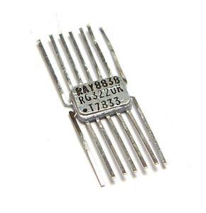 4x Raytheon 717315-80 / RG 3220 K, RAY III TTL Logik, Quad 2 Input NAND Gate NOS