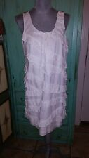 J CREW, white sleeveless short dress, size 12