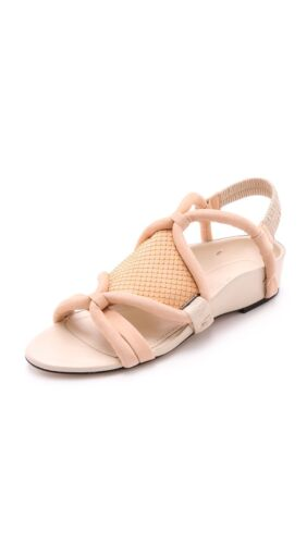 3.1 Phillip Lim PeachOyster Pink Marquise Flat Sandals UK 5.538.5