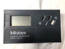 Mitutoyo Digimatic Protractor Model 950 313
