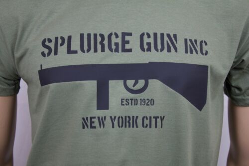 Splurge Gun Inc Bugsy Malone inspired mens film t-shirt 1976