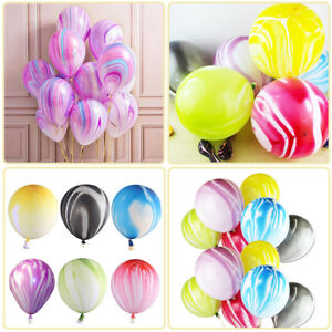 10-20Pcs-Marble-Agate-Latex-12-Inch-Balloon-Party-Birthday-Decor-Babys-Shows-so