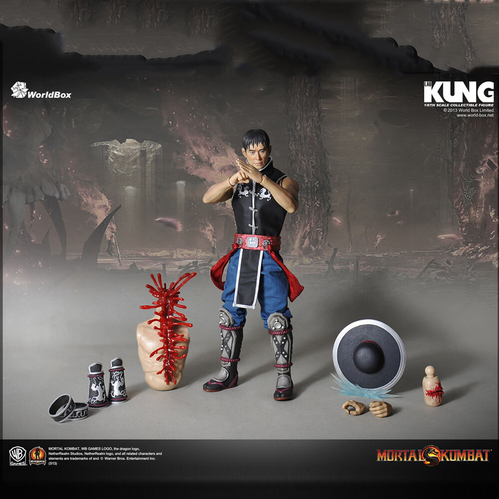 HOT FIGURE TOYS 1/6 WorldBox Mortal Kombat  Kung Lao