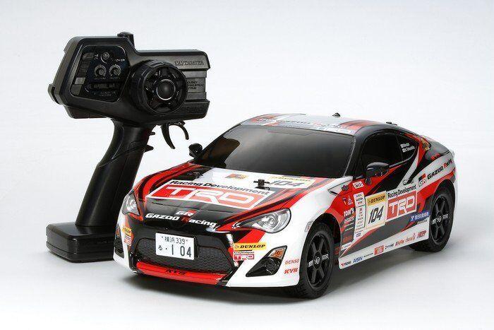Tamiya 46626 1 10 RC RTR GAZOO Racing TRD 86 - TT01ES (2.4GHz)