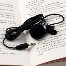 Portable Mini 3.5mm Tie Lapel Lavalier Clip Microphone for Lectures Teaching CE