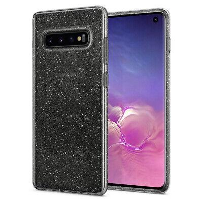 Galaxy S10,S10 Plus,S10e Spigen® [Liquid Crystal Glitter] Sparky TPU Case Cover