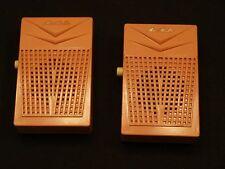 Pr Vintage Tensho Japan Mave 9V Mini Caller Transister Radio Look Walkie Talkies