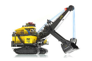 Weiss-Brothers-022-1801-P-amp-H-4100XPC-Mining-Shovel-1-160-N-Scale-Die-cast-MIB