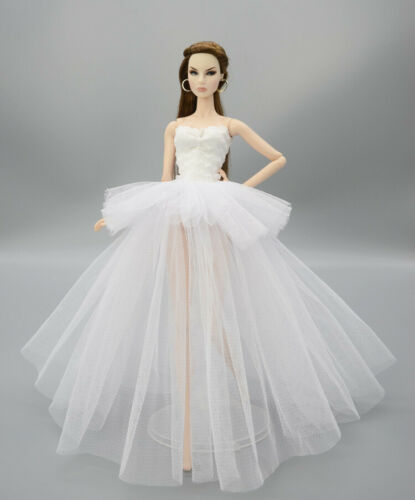 Wedding Dress for 11.5inch Doll Princess Long Dresses Doll Clothes 1//6Toy BR067