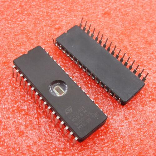5PCS M27C801-100F6 27C801 ST IC EPROM UV 8MBIT 100NS 32CDIP hot