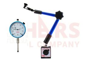 """OUT OF STOCK 90 DAYS SHARS Universal Magnetic Base With 1"""" Dial INDICATOR 2 In 1"""