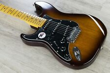 G&L Tribute S-500 Lefty Electric Guitar Left Handed Maple Board Tobacco Sunburst