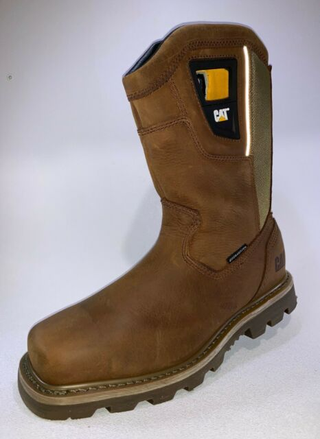 Steel Toe Brown Logger BOOTS Shoes