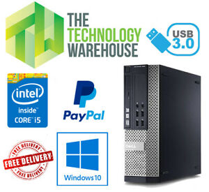DELL-Optiplex-7020-SFF-veloce-Computer-Intel-i5-fino-a-16GB-SSD-amp-Windows-10-PRO