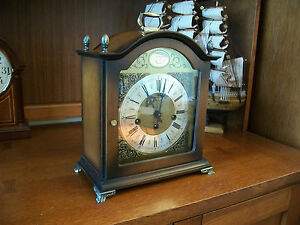 Bulova tempus fugit mantel clock