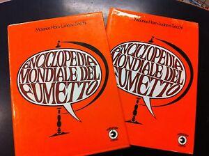 MAURICE-HORN-LUCIANO-SECCHI-ENCICLOPEDIA-MONDIALE-DEL-FUMETTO-ED-CORNO-1978