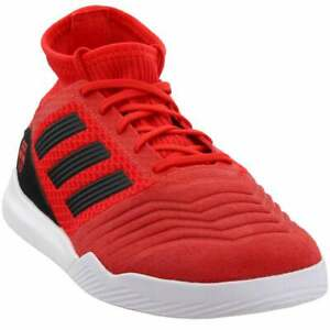 adidas-Predator-19-3-Turf-Casual-Soccer-Cleats-Red-Mens