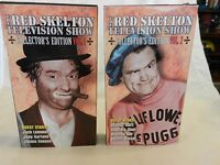 The Red Skelton Television Show (VHS) Volume 1 and 2 Collector's Edition (FJ)