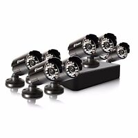 Swann Swdvk-8alp18-us 8 Channel 960h Security Dvr & 8x 650 Tvl Cameras