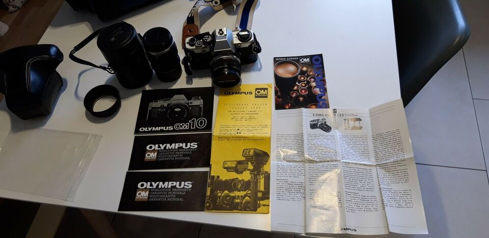 Olympus, OM 10, spejlrefleks