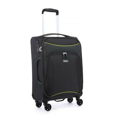 Antler Luggage Zeolite Softcase Cabin - Charcoal Travel Luggage Suitcase