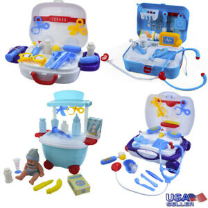 Durable-Kids-31Pcs-Medical-Kit-Pretend-Play-Set-Doctor-Nurse-Role-Play-Portable