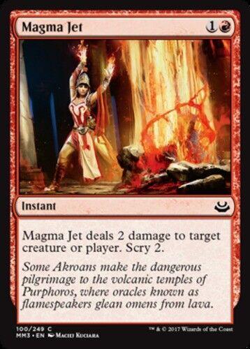 4x Magma Jet MTG Modern Masters 2017 NM Magic Regular