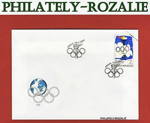 Czech-Republic-1994-FDC-First-Day-Cover-100-Years-of-the-Olympic-Committee-46