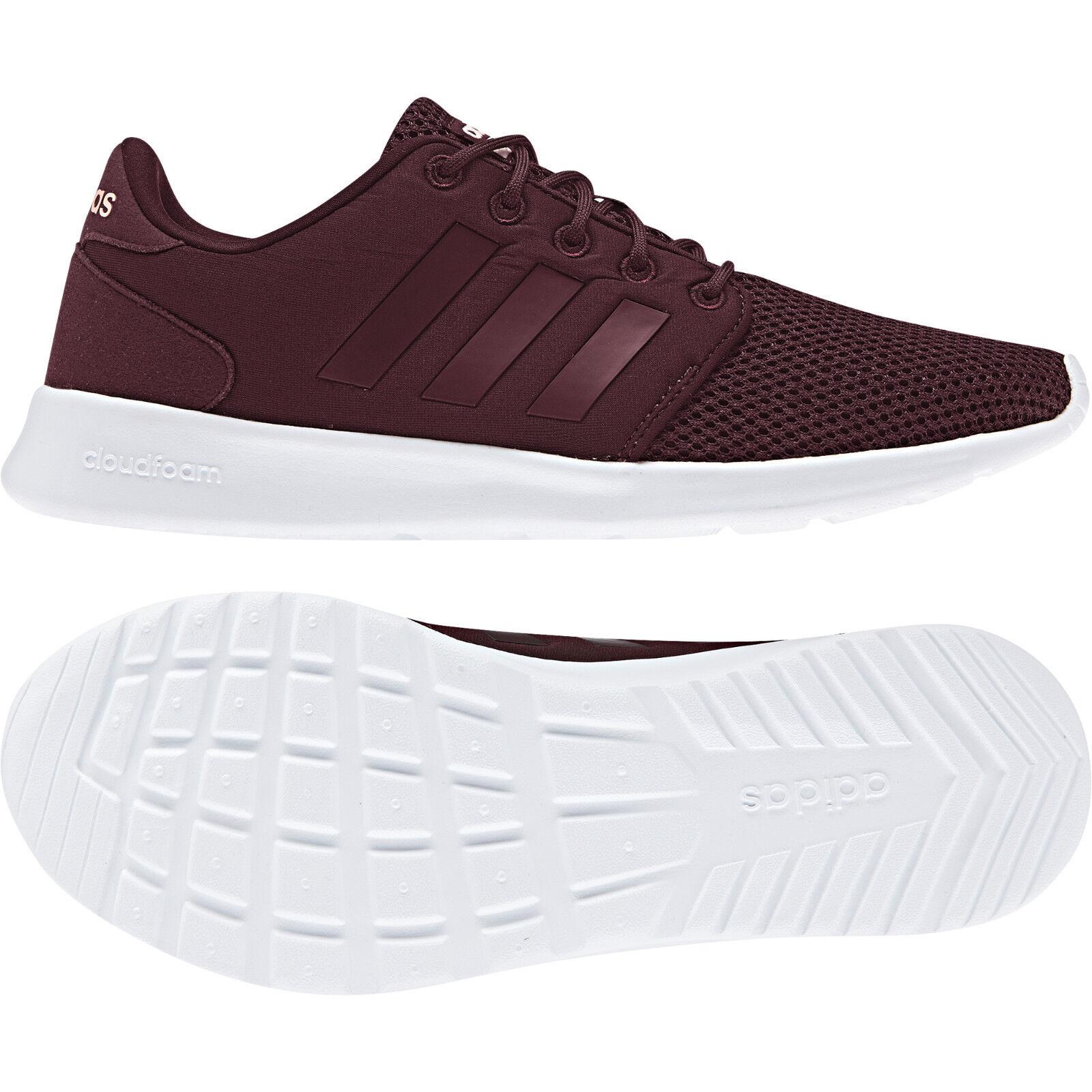 Adidas Women Running shoes Cloudfoam QT Racer Fashion Sneakers Boots New B43760