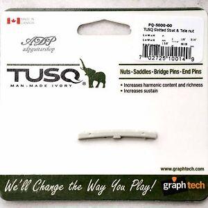 Capotasto-Graph-Tech-Tusq-PQ-5000-00-Slotted-Nut-43mm-Stratocaster-Telecaster