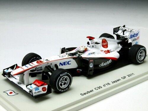 SPARK 1 43 SAUBER C30 Japan GP 2011  16 Kamui Kobayashi du Japon