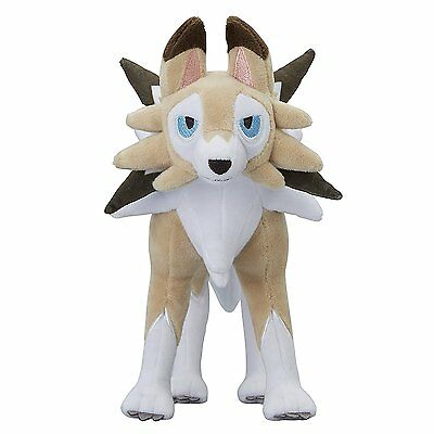 Pokemon Center Original Plush Lycanroc (Lugarugan) Midday Form doll JAPAN IMPORT
