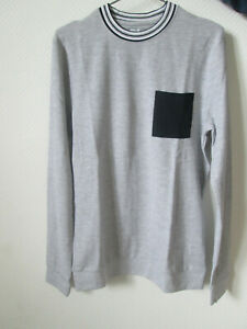 SWEAT  Jules hommes  taille S  GRIS