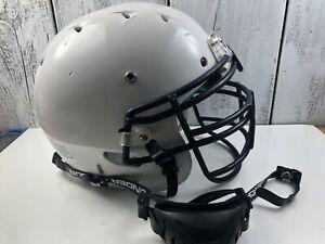 2013-Riddell-Schutt-Football-Helmet-Youth-Medium-Used-Under-Armor-chinstrap-USA
